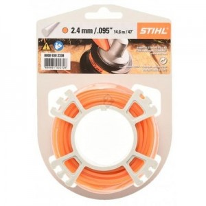 FIL ROND 2.4 MM ORANGE 14.6M