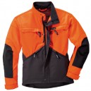VESTE DYNAMIC NOIR  ORANGE