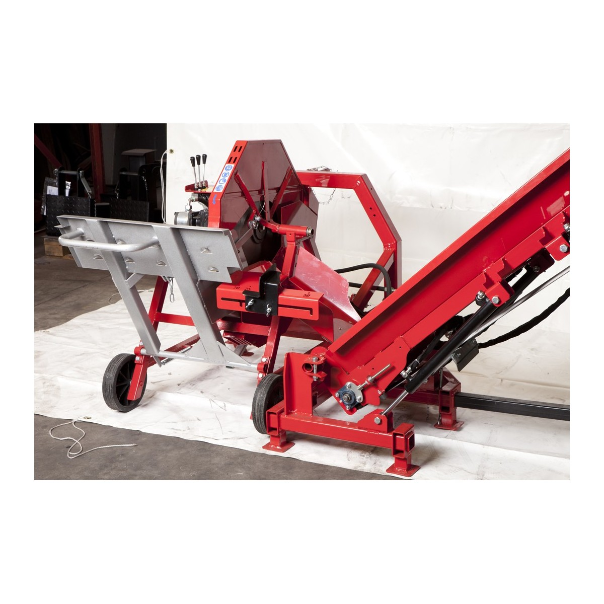 Achat Scie Circulaire A Chevalet Avec Tapis Hydraulique Amr Bender